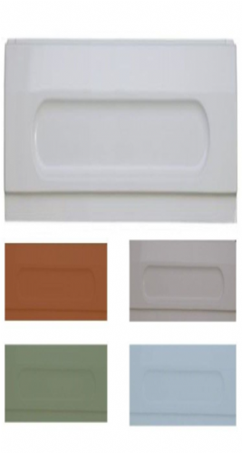 Bath End Panel, 700mm - 800mm - Various Colours